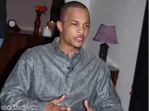 T.I., whose real name is Clifford Harris, has mentored at-risk students as part of his community service.