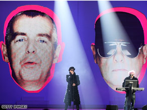 PETA has asked the Pet Shop Boys to change the band's name to Rescue Shelter Boys.
