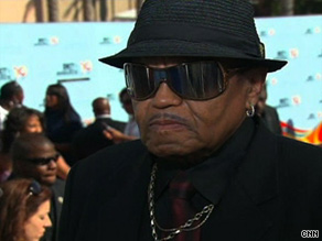 Joe Jackson, father of Michael Jackson, was in attendance in Los Angeles for the BET Awards on Sunday.