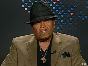 Joe Jackson told CNN's Larry King he suspected foul play was involved in his son's death last month.