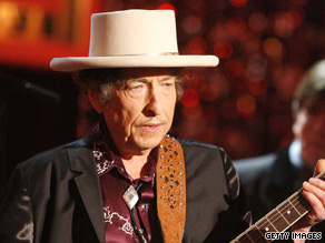 A police officer questioning Bob Dylan recognized his name but wasn't sure it was him.
