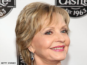 Florence Henderson is often asked for hugs by complete strangers.