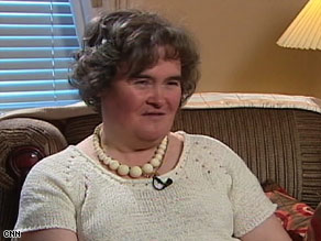 Susan Boyle says despite snickers when she began singing, she knew she just had to win over those cynics.