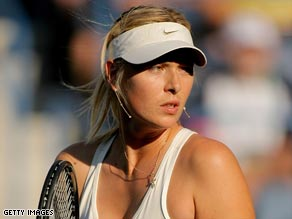Sharapova was releived to be back in action in Indian Wells.