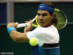 Rafael Nadal was beaten 6-4, 3-6, 7-6 (7/3) by Juan Martin  del Potro.