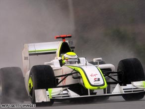 Jenson Button's victories in the opening two races of the F1  season were on the line.