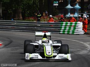 Championship leader Button can't do a thing wrong as he showed with pole for Sunday's Monaco Grand Prix.