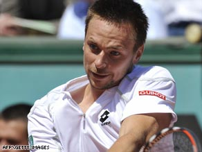 Robin Soderling is the first Swede to reach the French Open semifinals since his coach Magnus Norman in 2000.