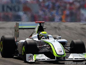 Jenson Button's sixth victory in seven races this season edges him closer to the Formula One world title.