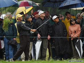 The 2002 US Open at Bethpage Black featured punishing rough and heavy rain.