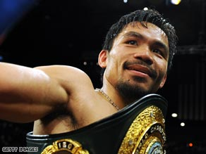 Manny Pacquiao will take on Miguel Cotto in his next fight scheduled for Novermber 18.