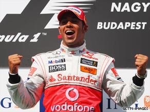 Lewis Webber celebrated his first win of a poor 2009 season  after starting the Hungarian GP from fourth on the grid.