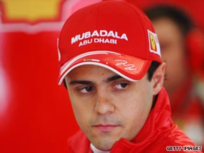 Massa appears well on the way to recovery after his horror crash.