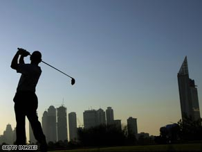 The Race to Dubai has been hit by the global financial downturn.