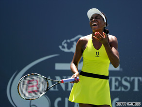 Venus Williams suffered a final disappointment at the hands of Marion Bartoli.