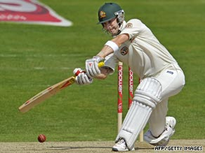 In-form Michael Clarke followed up his century from Edgbaston with another crucial innings.