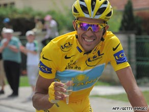 Alberto Contador's Astana future was in doubt following his uncomfortable relationship with Lance Armstrong.
