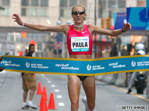 Marathon record-holder Paula Radcliffe is seeking to win back her world title in Berlin.