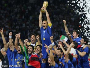 Italy will be looking to defend the World Cup they won in 2006  in South Africa next year.