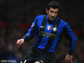 Luis Figo decided against extending his career with a move to the Far East or the United States.