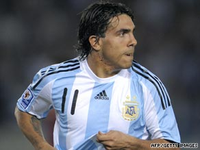 Argentina star Carlos Tevez is moving across Manchester to join United's bitter rivals City.
