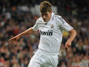 Klaas-Jan Huntelaar struggled to make a big impact in his year and a half at Real Madrid.