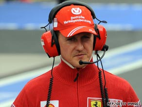 Schumacher continues to prepare for his return to Formula One at the European Grand Prix in Valencia.