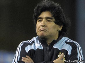 Maradona's Argentina side have a had a tough campaign.