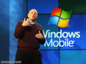 Microsoft and CEO Steve Ballmer will launch an online store for smartphone applications, a report says.