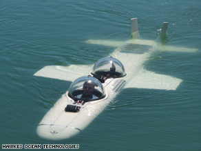 The Deep Flight Super Falcon made its maiden voyage in San Francisco Bay in September.