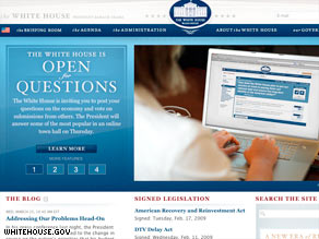 Americans can submit questions on WhiteHouse.gov for President Obama to answer live online Thursday.