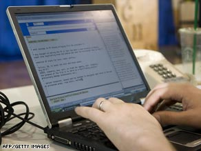 Experts say a single infected laptop could expose an entire network to the worm.