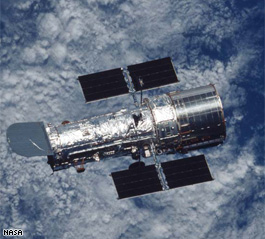 The Hubble Telescope: The Grand Old Man of the nearby heavens.