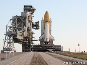NASA officials postponed Saturday's scheduled launch of space shuttle Endeavour because of a leak.