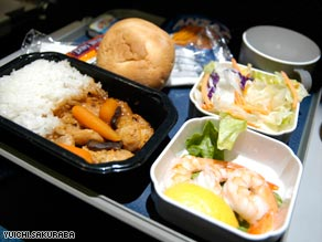 Mean cuisine? Airline industry experts insist standards of in-flight food are improving.