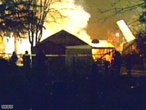 Continental Airlines Flight 3407 crashed into a house in suburban Buffalo, New York, late Thursday.
