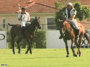 Teams are trying to figure out what happened at the International Polo Club Palm Beach in Florida.