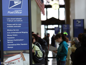 The Postal Service said the price increases were needed because of rising production costs.