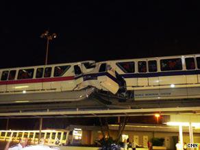 Train operator Austin Wuennenberg, 21, was killed in Sunday's monorail crash.