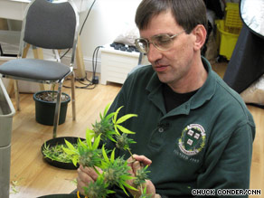 Marijuana activist Richard Lee is a local celebrity in the small district of Oakland, California, called Oaksterdam.
