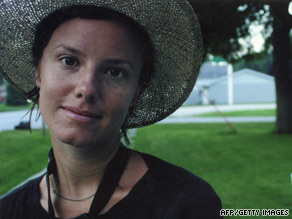 Sarah Shourd, seen in a family photo, is one of three American hikers detained in Iran.