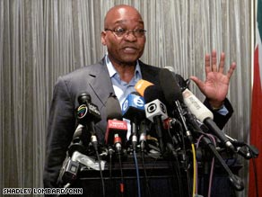 ANC leader Jacob Zuma has promised to govern in the same manner as Nelson Mandela.