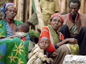 An estimated 800,000 people -- mainly Tutsis -- were killed in Rwanda in 1994.