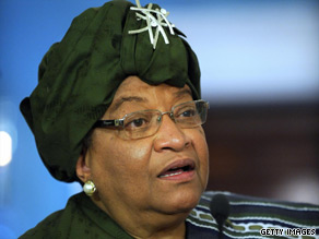 President Ellen Johnson-Sirleaf has made cracking down on sex crimes a top priority in Liberia.