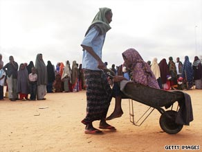 Somali military recruiters are enlisting men from Kenya's Dadaab camps say Human Rights Watch.  The Dadaab refugee complex is the largest of its kind in the world.