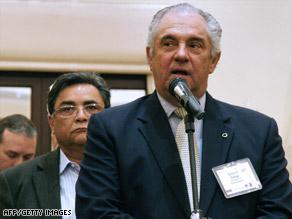 Guillermo Zuloaga, seen in 2008,  is head of Venezuelan TV news network Globovision.