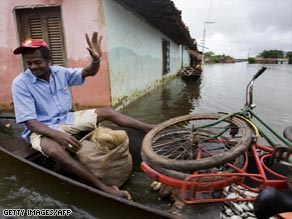 Steady rain has flooded communities across 10 states in Brazil since early April.