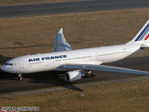 This Airbus 330 crashed into the Atlantic on June 1 while flying from Rio de Janiero to Paris.