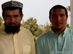 Salahidin Abdalahut and Kheleel Mamut were two of four Uyghurs released from Gitmo. Thirteen remain there.