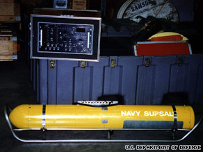 The U.S. Navy's Pinger Locator System is being used to find Air France Flight 447's flight recorders.